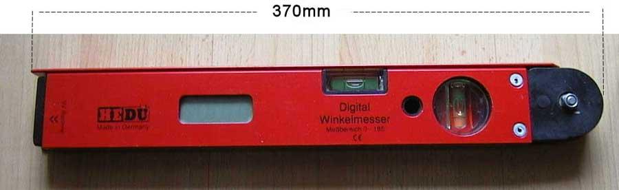 Digitaler Winkelmesser, Sammelsurium