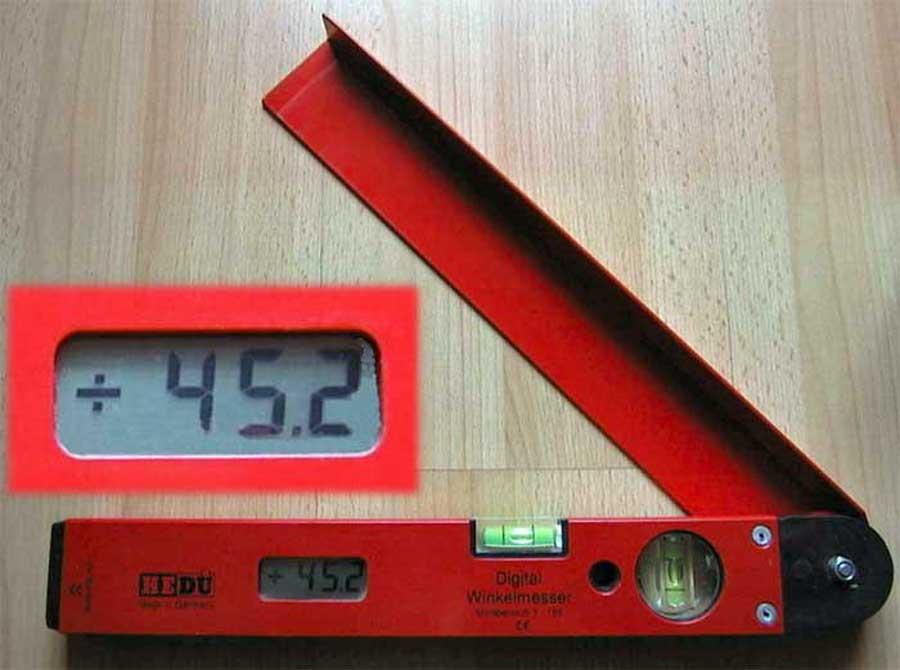 Messwerkzeug Digitales Winkelmessgeraet