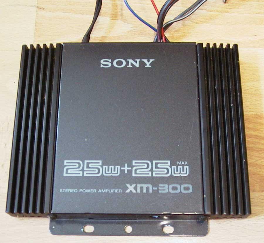Sony Amplifier - Verstärker für Auto