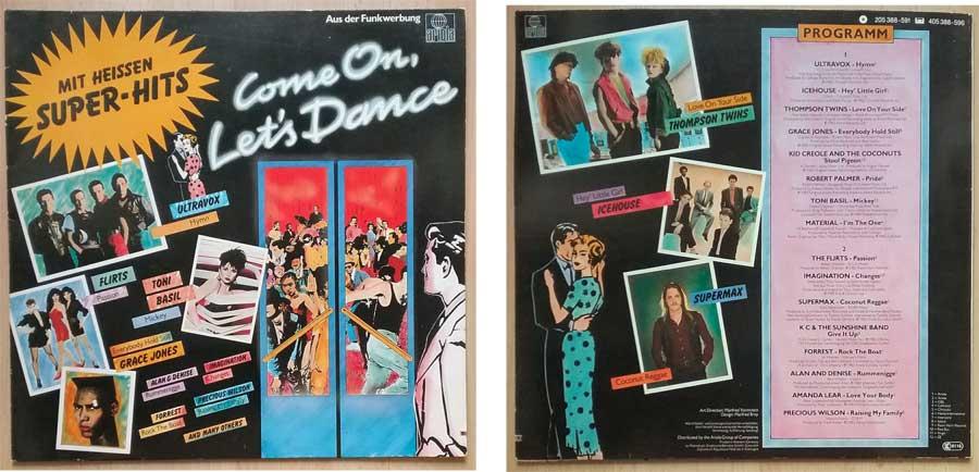 Schallplatte mit Heissen Super-Hits