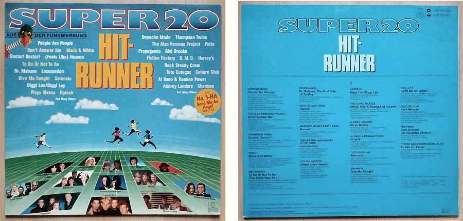 Hit-Runner aus der Funkwerbung auf Schallplatte