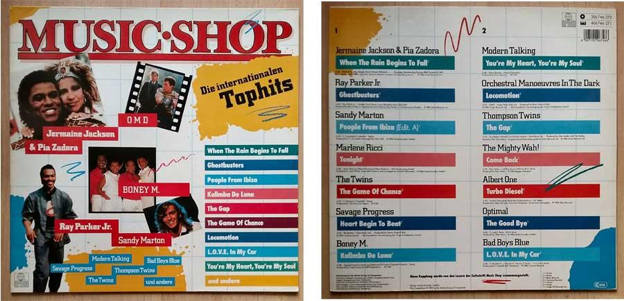 Die Internationalen Tophits der Zeitschrift Music Shop
