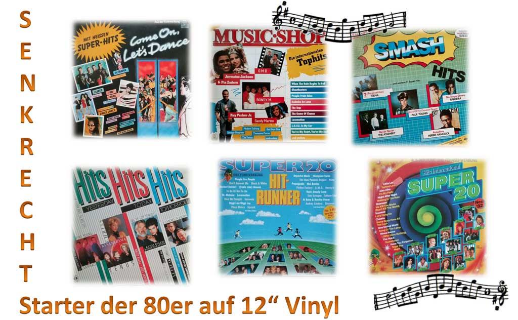 Senkrechtstarter auf Vinyl (Schallplatte) gepresst
