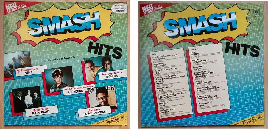 Smash Hits, Schallplatte mit Brandaktuellem aus den Hitparaden