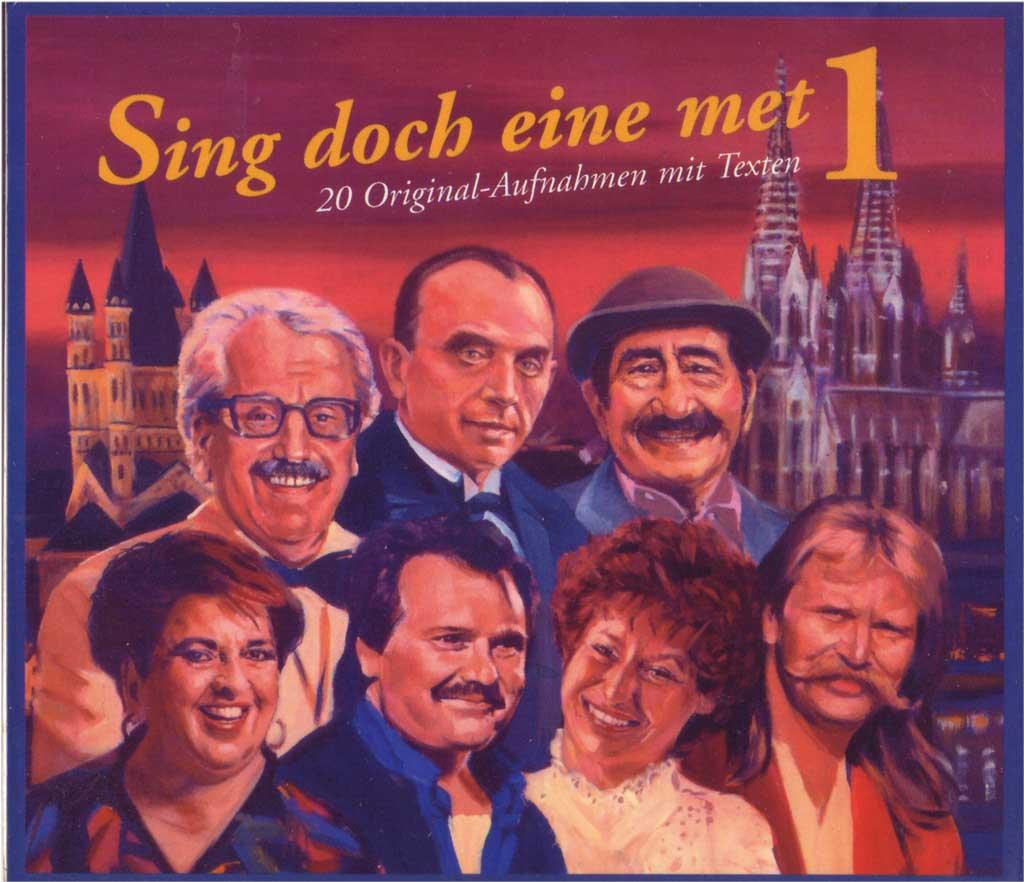 Karnevalslieder Sing doch eine met CD 1