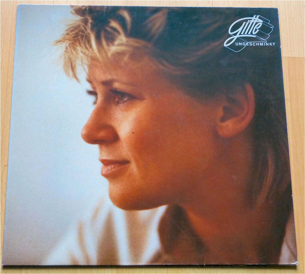 Hammer die LP von Gitte Ungeschminkt