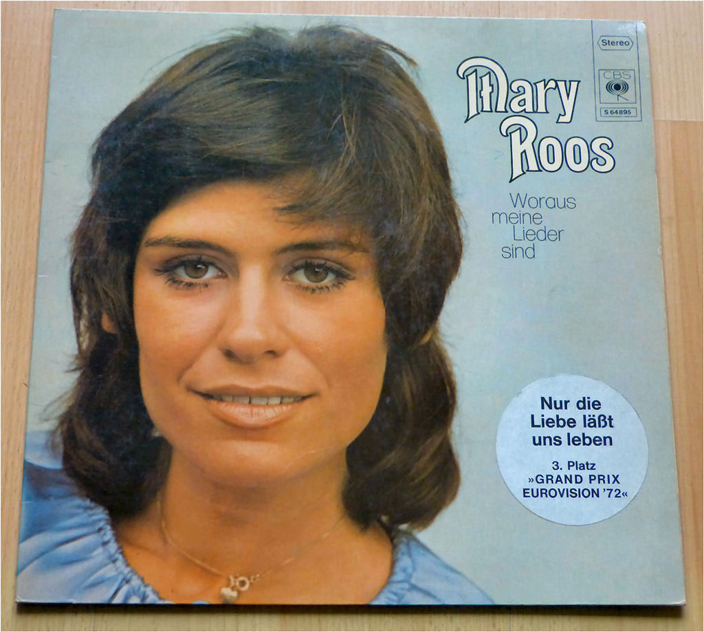 LP Album von 1972 mit Mary Roos