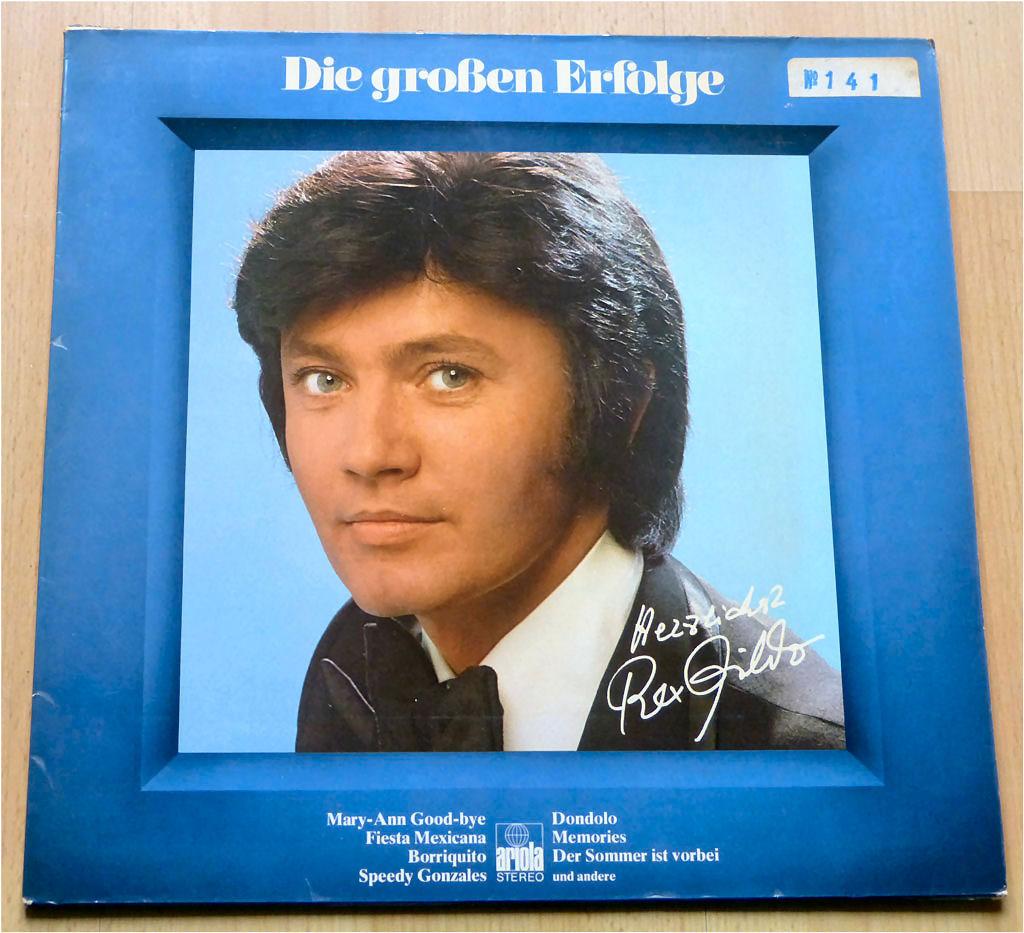 Unvergessen die LP von Rex Gildo