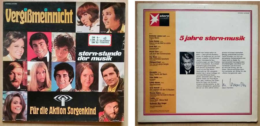 5 Jahre Stern-Musik. Vergiß mein nicht auf Vinyl 12 Zoll