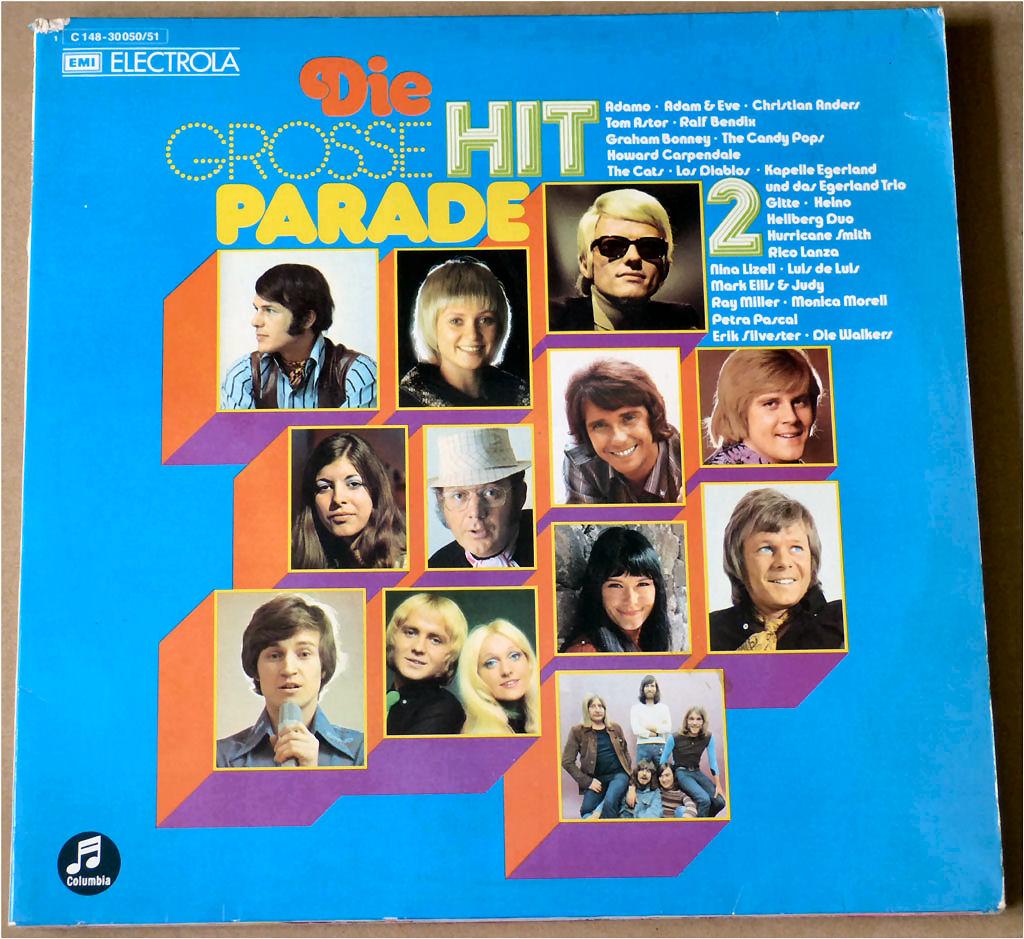 Popgruppen Doppel-LP Hitparade