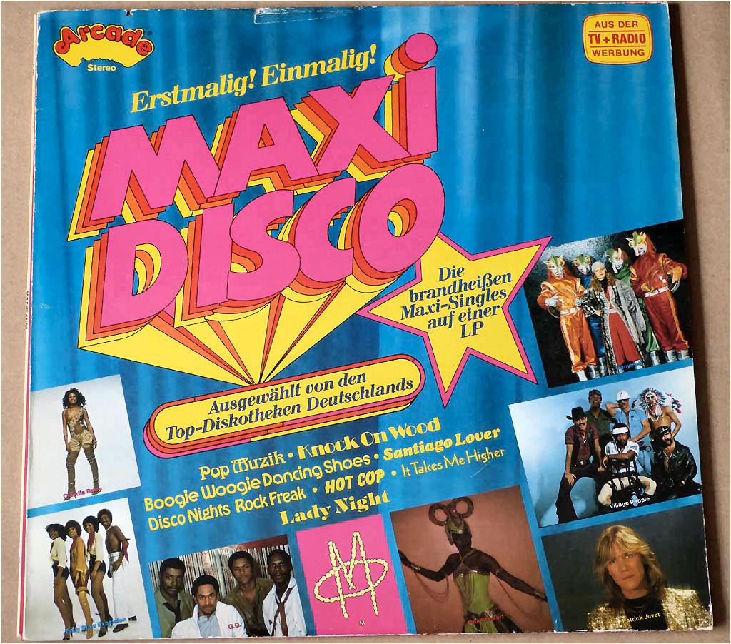 LP Popgruppen mit Maxi Songs