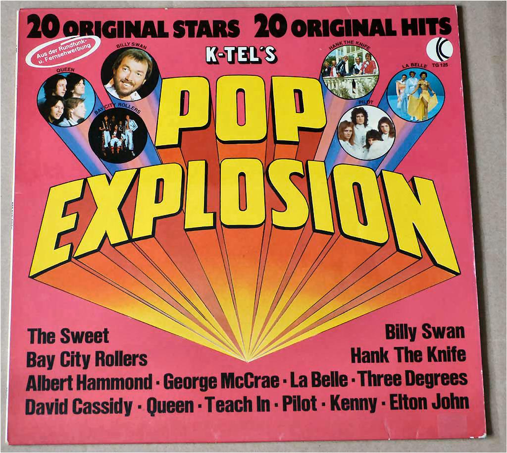 Pop Explosion Schallplatte 12 Zoll