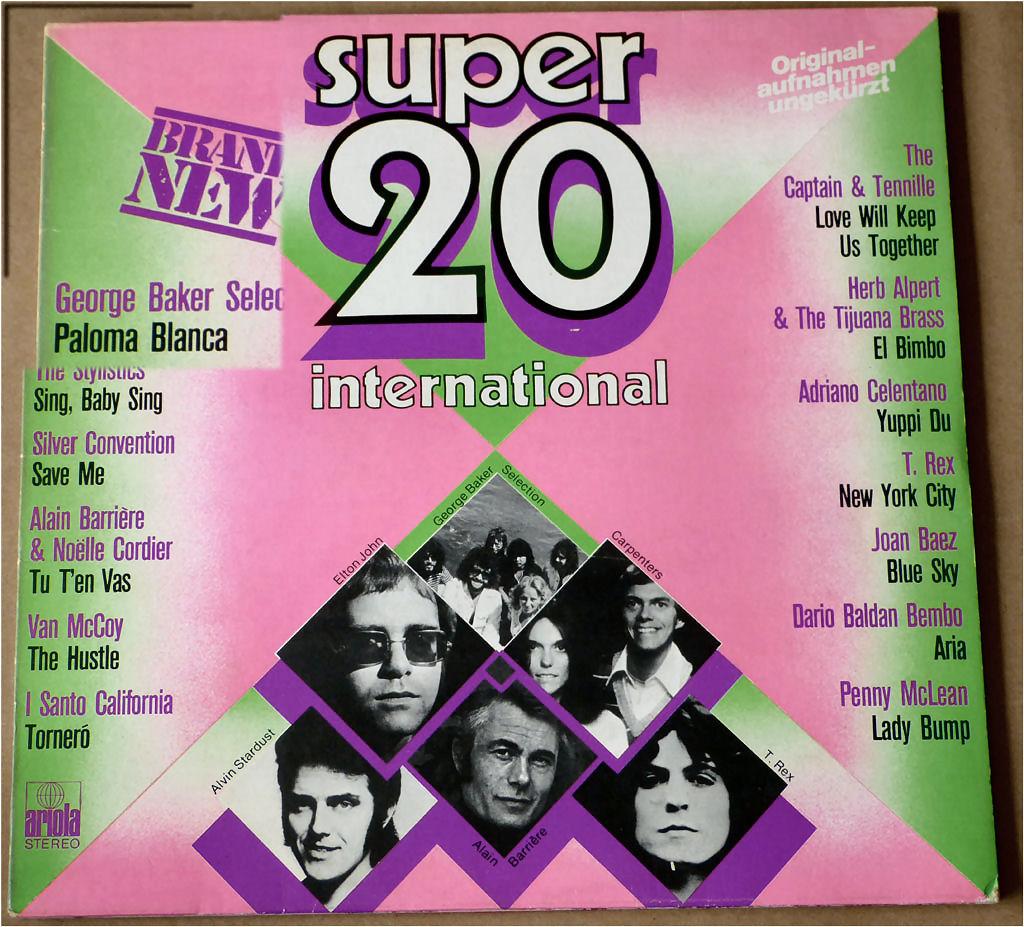 LP mit super 20 Hits
