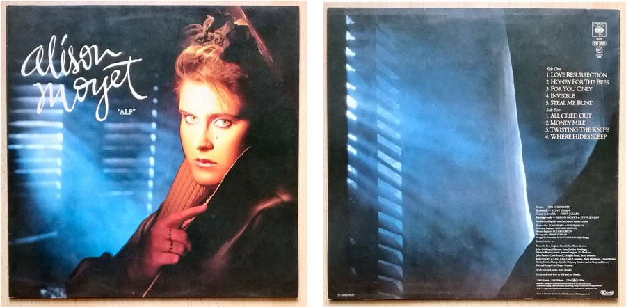 Langspielplatte von Alison Moyet - ALF von 1984