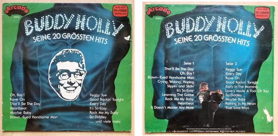 Schallplatte von Buddy Holly - Garagenfund