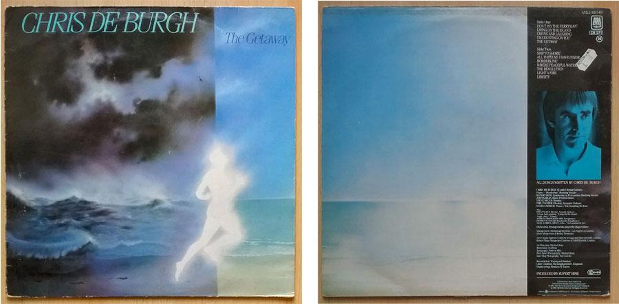 Chris de Burgh auf Vinyl The Getaway, Garagenfund
