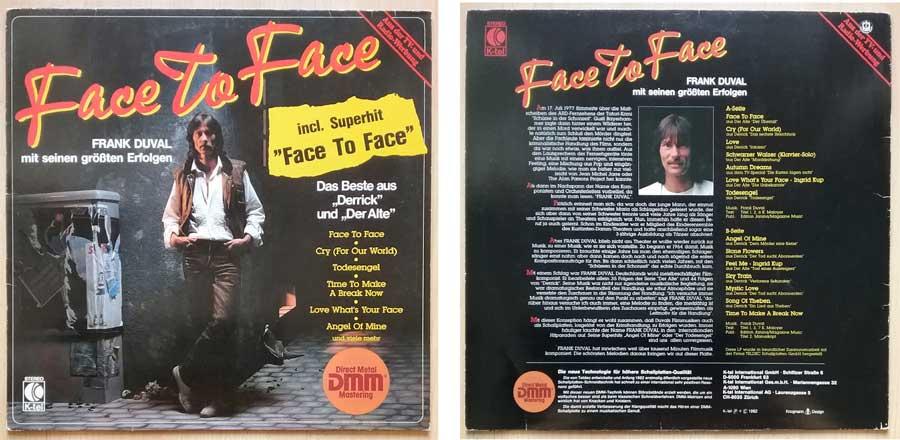 Schallplatte von Frank Duval