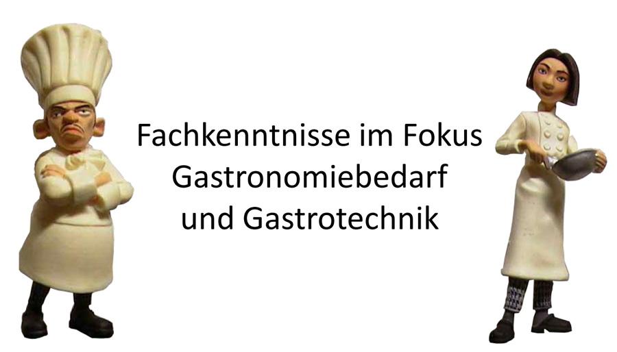 Meine Onlinebewerbung im Fokus Gastronomiebedarf, Gastrotechnik