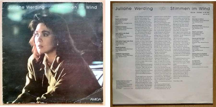 Schallplatte Garagenfund, DDR mit Juliane Werding