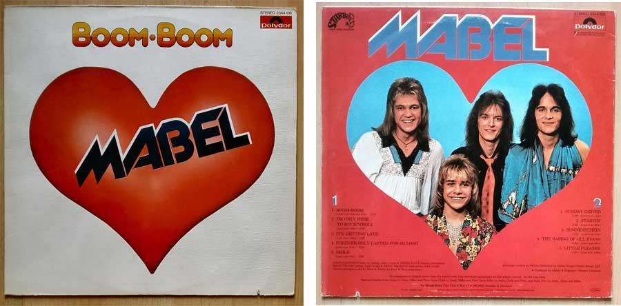 Rock und Pop auf Schallplatte von Mabel