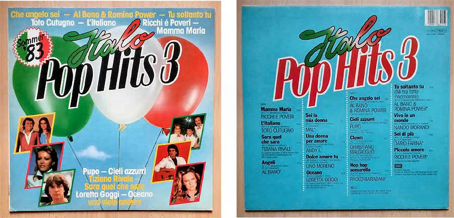 Italo Pop Hits 3, Langspielplatte vom Sommer 1983