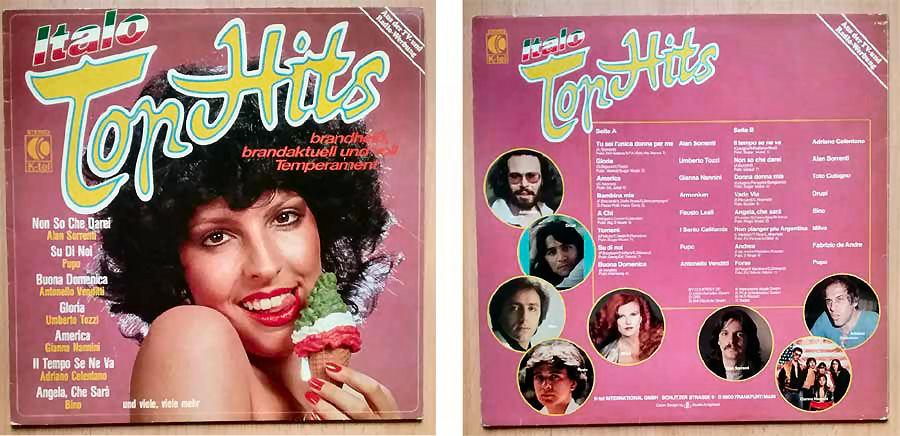 Italo Top Hits aus der TV- und Radio-Werbung