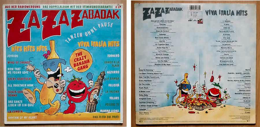 Za Za Zabadak - The Crazy Banana Gang - Viva Italia Hits