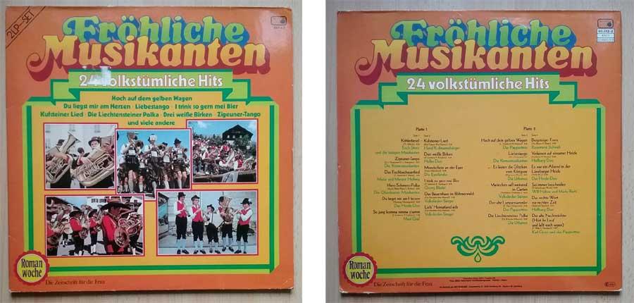 Fröhliche Musikanten auf 2 LP-Set