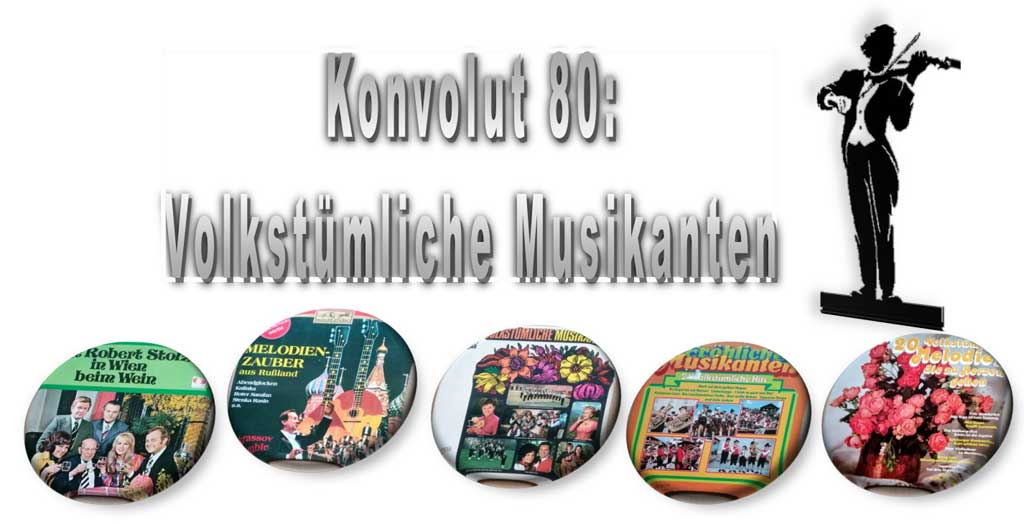 Musikanten auf LP, Vinyl, Langspielplatten