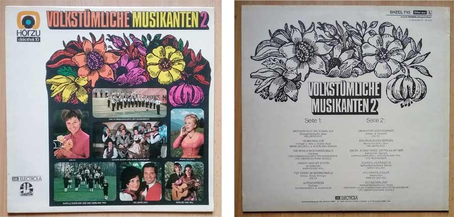 Musikanten auf LP von Hörzu Diskothek 10