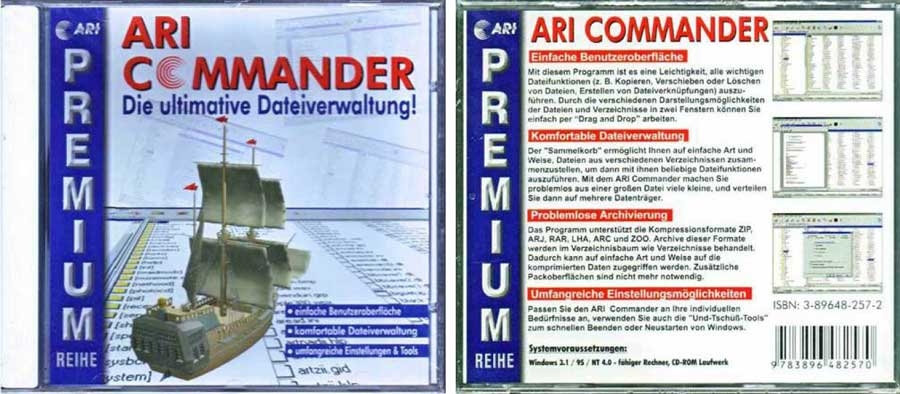 ari commander 9783896482570