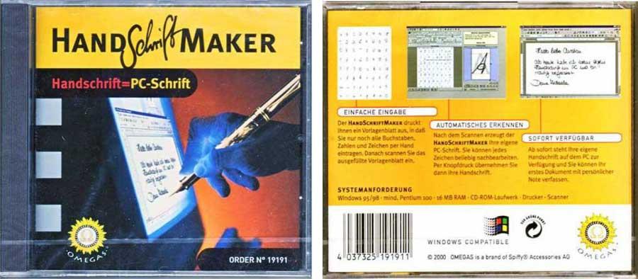 handschrift maker 4037325191911