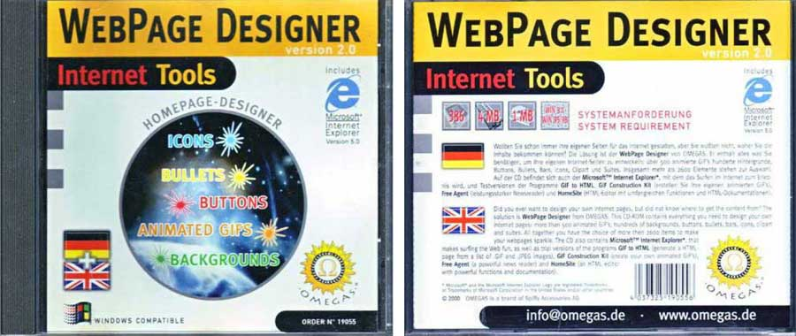 web page designer 4037325190556