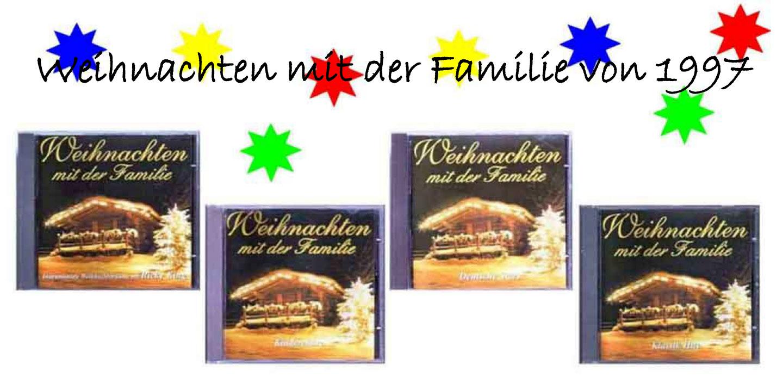 Banner CD zu Weihnachten mit Weihnachtsliedern