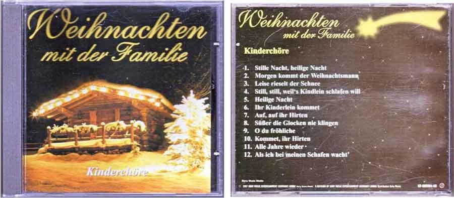 CD Weihnachten mit der Familie - Kinderchöre