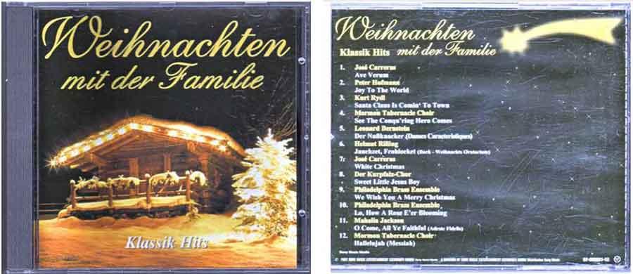 CD Weihnachten mit der Familie - Klassik Hits