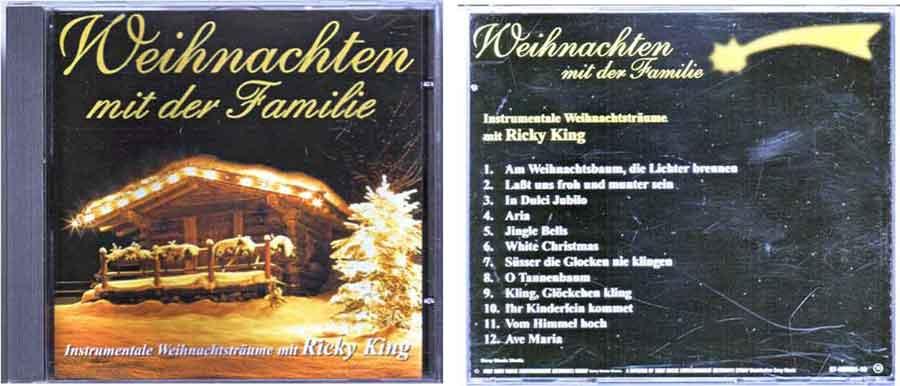 CD Weihnachten mit Ricky King