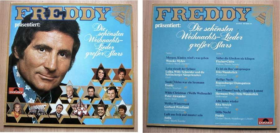 Freddy präsentiert - Die schönsten Weihnachts-Lieder auf LP