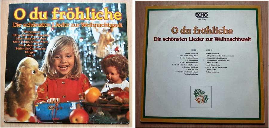 Die schönsten Lieder zur Weihnachtszeit - LP Vinyl von 1973