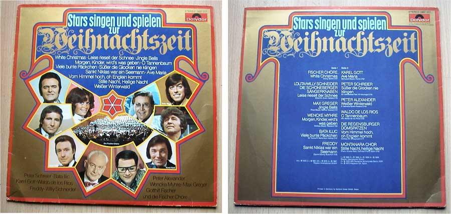 Stars singen und spielen zur Weihnachtszeit - LP Vinyl von 1975