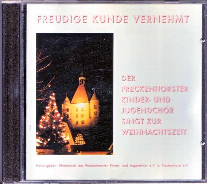 Freckenhorster Kinder- und Jugendchor - Weihnachtslieder auf CD, Album