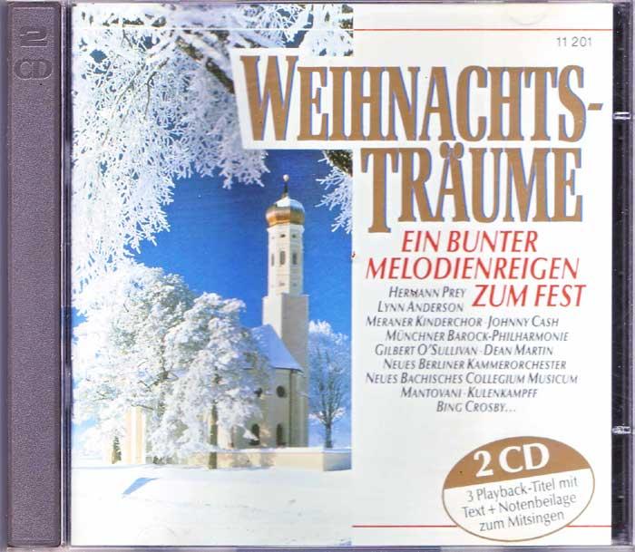 Weihnachts-Träume Weihnachtslieder auf CD, Album