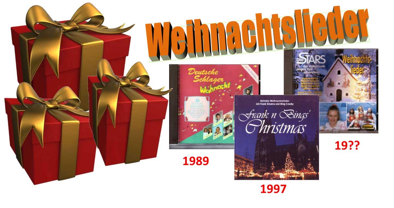 Chrismas Banner der Weihnachtslieder