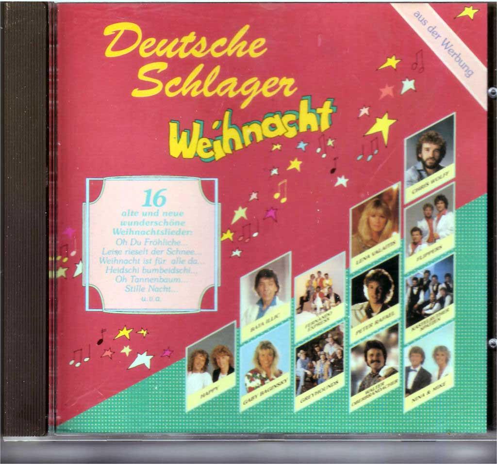 Weihnachtslieder, Deutsche Schlager