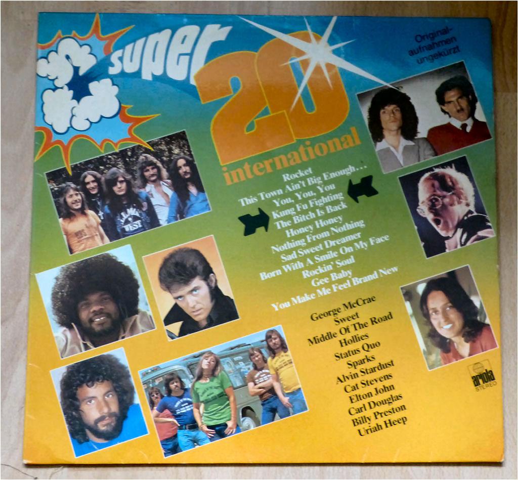 Broadcast mit 20 Songs auf Vinyl