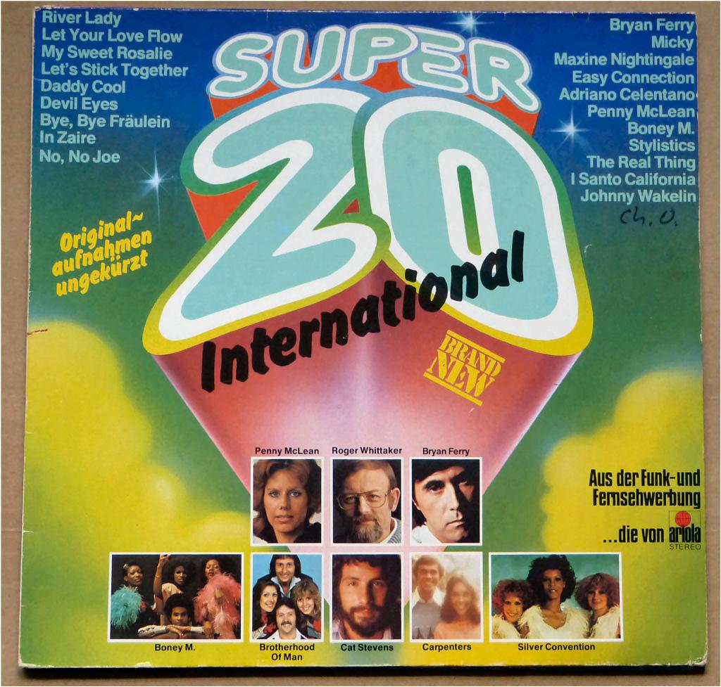 Broadcast Ariola Vinyl Super 20