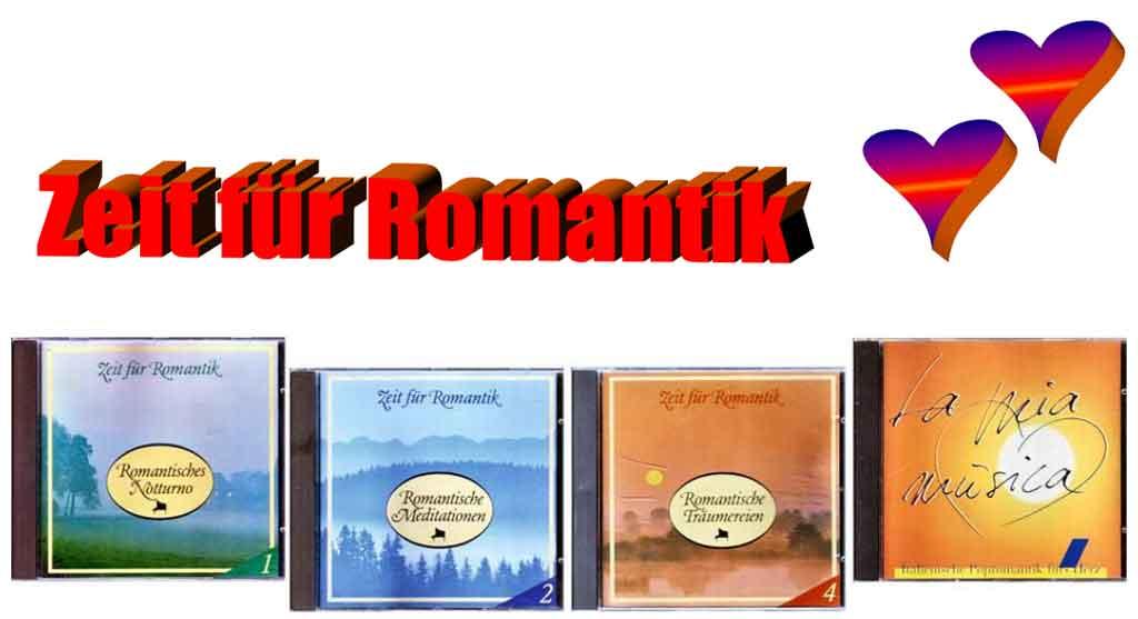 CD Zeit für Romantik - Banner