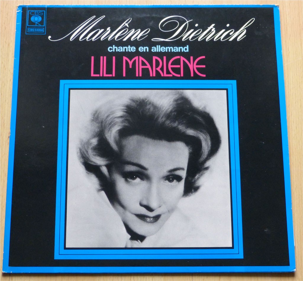 Marlene Dietrich auf Schallplatte Vinyl